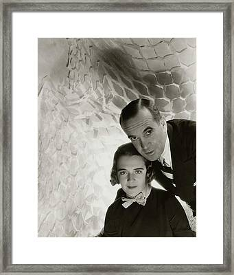 Al Jolson And Ruby Keeler Framed Print