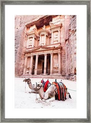 Al Khazneh Framed Print by Alexey Stiop