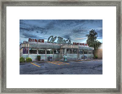 Al Mac's Diner Framed Print