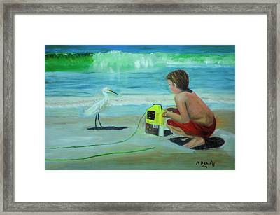 Al Framed Print by Michael Daniels