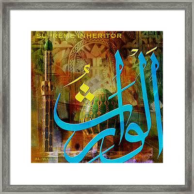 Al Waris Framed Print by Corporate Art Task Force