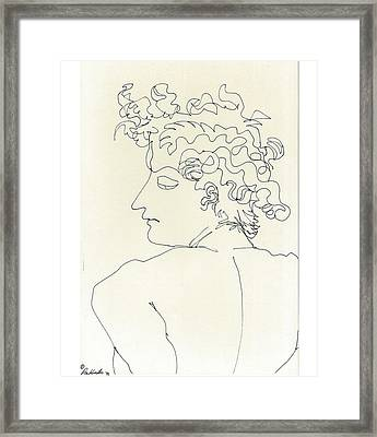 Framed Print featuring the sculpture Ala Angelo by Don Koester