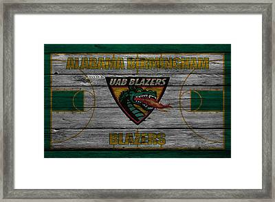 Alabama Birmingham Blazers Framed Print by Joe Hamilton