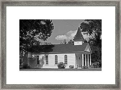 Alabama Church Framed Print by Kimberly Saulsberry