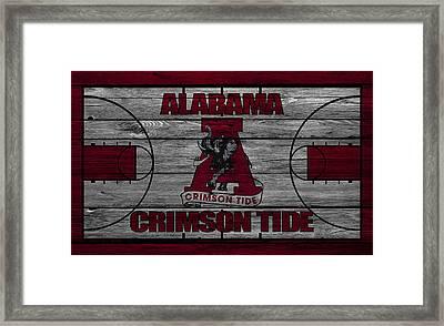 Alabama Crimson Tide Framed Print