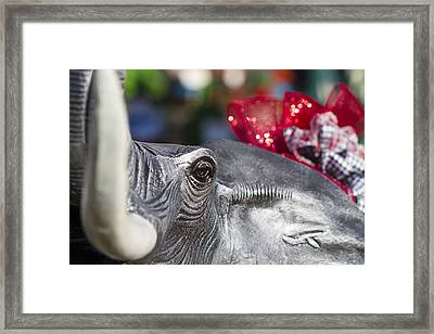 Alabama Football Pachyderm Framed Print