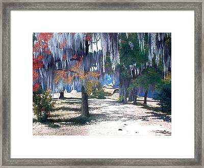 Alabama Fort Jackson Framed Print by Beth Parrish