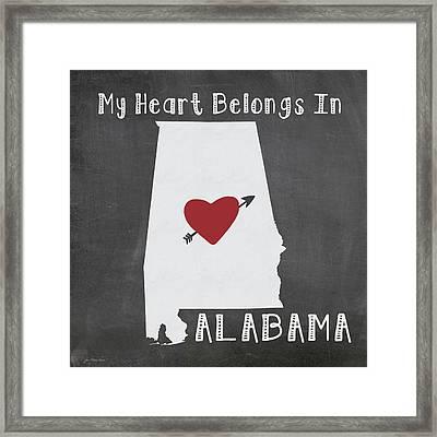 Alabama Framed Print by Jo Moulton