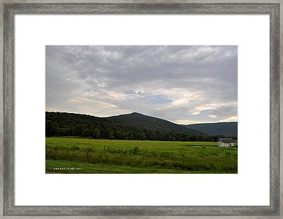 Alabama Mountains 2 Framed Print
