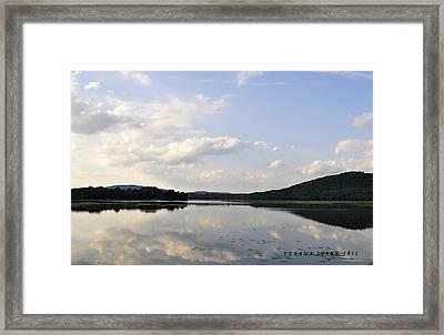 Alabama Mountains Framed Print