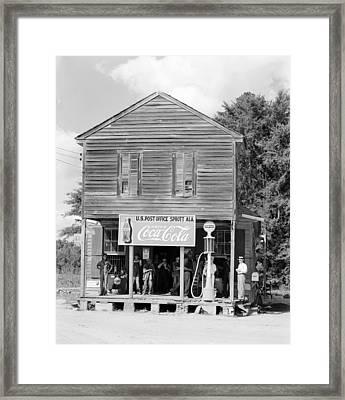 Alabama Post Office Framed Print by Granger