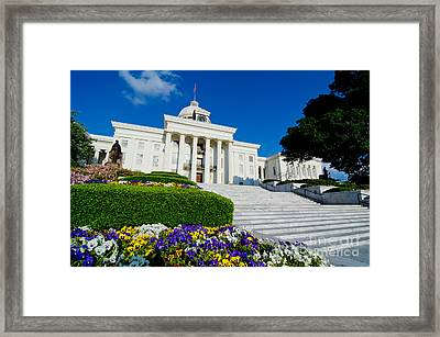 Alabama State Capitol Building Framed Print
