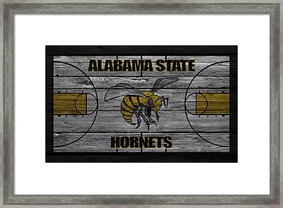 Alabama State Hornets Framed Print by Joe Hamilton