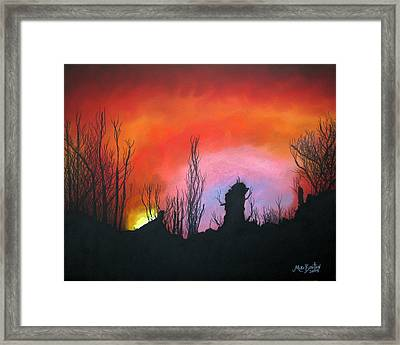 Alabama Sunrise Framed Print