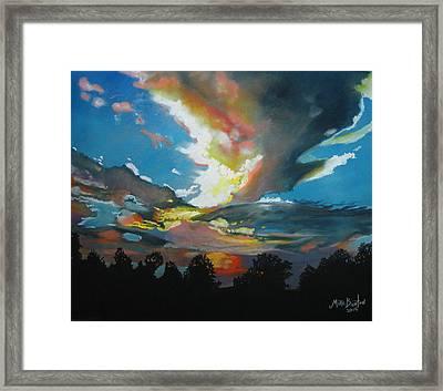 Alabama Sunset Framed Print