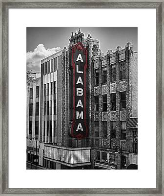 Alabama Theater Framed Print by Fred Baird