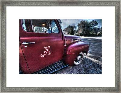 Alabama Truck Framed Print