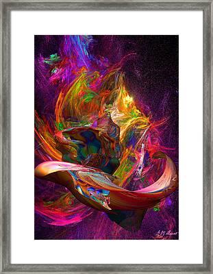 Aladdin's Lamp Framed Print by Michael Durst