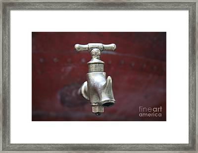 Alambic Tap Framed Print