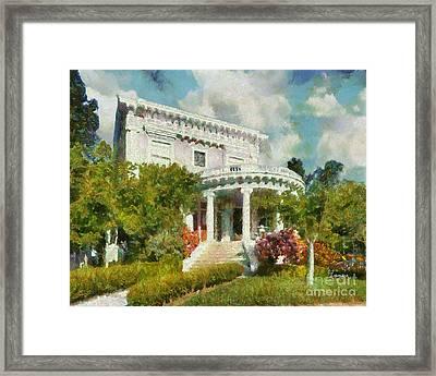 Alameda 1896-97 Colonial Revival Framed Print