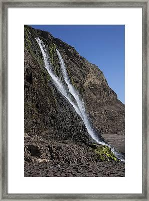 Alamere Falls Framed Print by Garry Gay