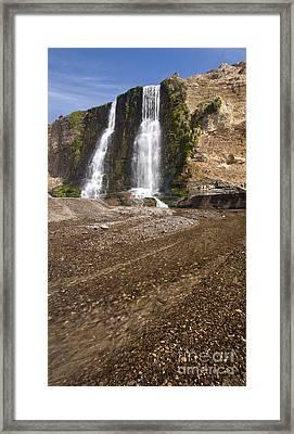Alamere Falls On Crisp Day Framed Print by Matt Tilghman