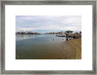Alamitos Bay Framed Print by Heidi Smith