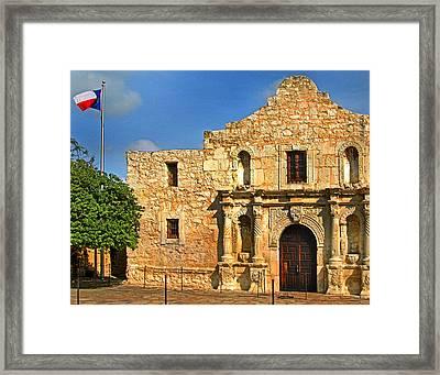 Alamo 0002 Framed Print