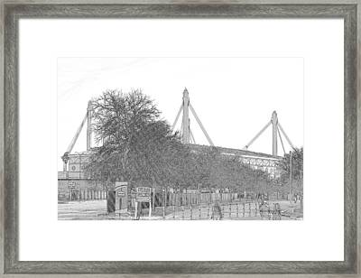 Alamo Dome Framed Print