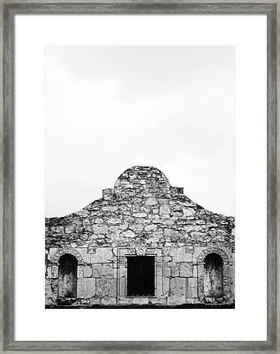 Alamo 1 Framed Print by John Gusky
