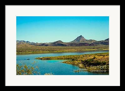 Bill Williams River Valley Framed Prints