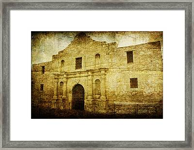 Alamo Remembered Framed Print