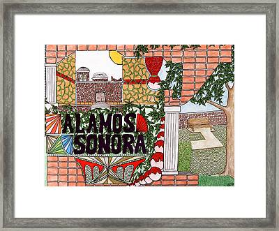 Alamos Framed Print