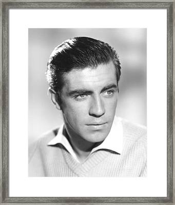 Alan Bates In The Entertainer  Framed Print by Silver Screen