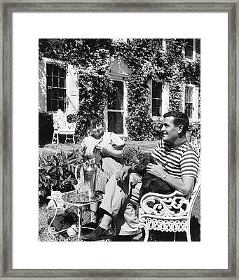 Alan Campbell And Dorothy Parker Framed Print by  Lofman