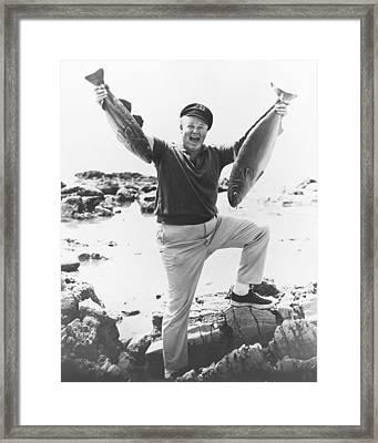Alan Hale Jr. In Gilligan's Island  Framed Print
