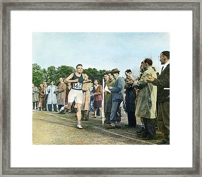 Alan Mathison Turing (1912-1954) Framed Print by Granger