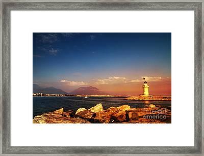 Alanya Framed Print