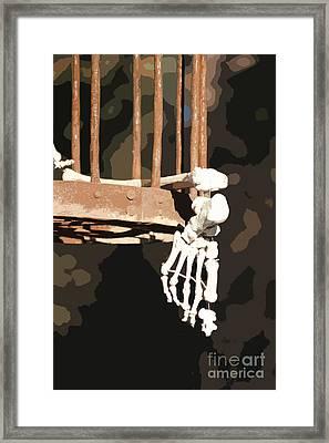 Alas Poor Yorik Framed Print by Joe Jake Pratt