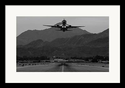 Commercial Airplane Framed Prints