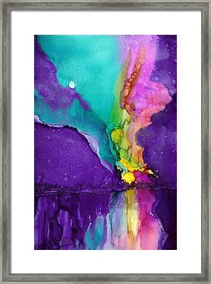 Alaska Aurora Borealis Framed Print