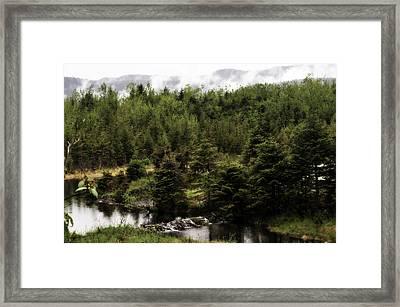 Alaska Beauty 2 Framed Print by Davina Washington