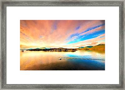 Alaska Framed Print by Bill Howard