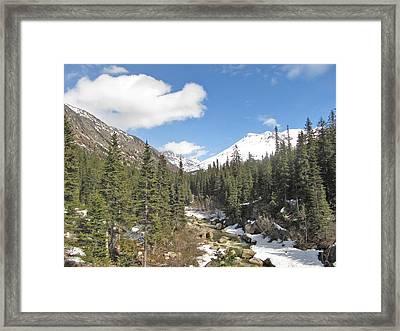 Alaska Country Framed Print by Larry Marano