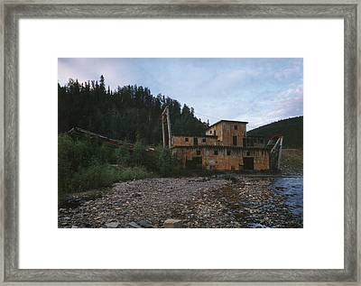 Alaska Dredge, 1984 Framed Print
