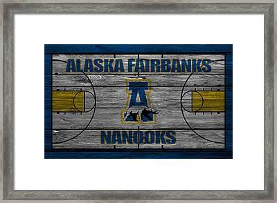 Alaska Fairbanks Nanooks Framed Print by Joe Hamilton