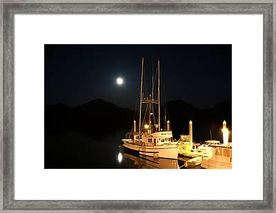 Alaska Fishing Boat Framed Print
