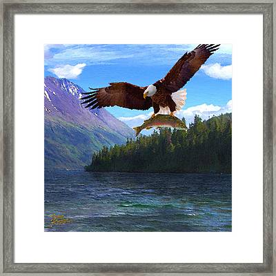 Alaska Fly Fishing Framed Print