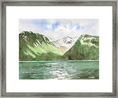Alaska Kenai Fjords Framed Print