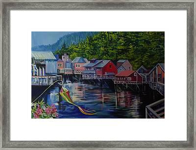 Alaska. Ketchikan Framed Print